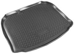 Коврик в багажник для Audi A3 '04-12, полиуретановый (NorPlast) черный
