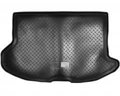 Коврик в багажник для Subaru Impreza '07-12 хэтчбек резино/пластиковый (Nor-Plast)