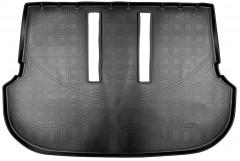 Коврик в багажник для Toyota Fortuner '15- 7 мест (разложенный 3 ряд) полиуретановый (Nor-Plast)