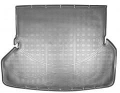 Коврик в багажник для Toyota Highlander '10-13, 7 мест полиуретановый (Nor-Plast)