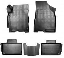 Коврики в салон для Chery Tiggo 2 '16- полиуретановые, черные, 3D (Nor-Plast)