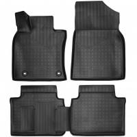 Коврики в салон для Toyota Camry V70 '18- полиуретановые, черные (Nor-Plast)