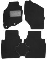 Коврики в салон для Honda Jazz '03-08, текстильные, черные (Novline / Element)