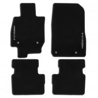 Коврики в салон для Mazda CX-3 '15-, текстильные, черные (Novline / Element)