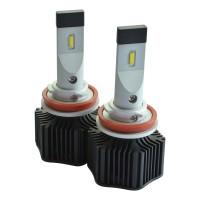 Автомобильные светодиодные лампочки Prime-X серия M H11/H8 6000K (2шт)