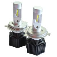 Автомобильные светодиодные лампочки Prime-X серия M H4 6000K (2шт)
