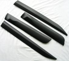 Накладки (молдинги) на дверь для Toyota Hilux '15-, матовые, тип TS (ASP)