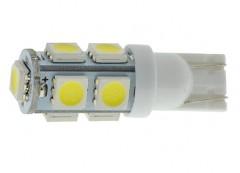 Лампочка автомобильная Cyclon W5W T10-039 5050-9 12V MJ