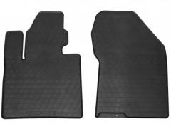 Коврики в салон передние для Hyundai Santa Fe '18-, резиновые (Stingray)