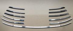 Накладка на решетку радиатора нижняя для Toyota Camry V70 2018-, хром (ASP)