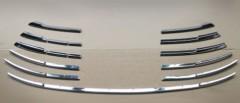 Накладка на решетку радиатора нижняя для Toyota Camry V70 2018-, хром, SS (ASP)