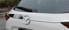 Накладки на крышку багажника для Mazda CX-5 2017-, хром, SS (ASP)