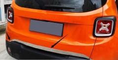 Накладка на кромку задней двери для Jeep Renegade 2016-, хром (ASP)