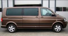 Накладки (молдинги) на дверь для Volkswagen Transporter T5 '03-15 длинная база (ASP)