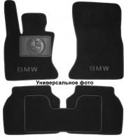 Коврики в салон для BMW 7 E32 '87-94текстильные, черные (Люкс)