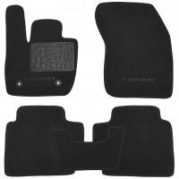Коврики в салон для Ford Fusion USA '12-текстильные, черные (Люкс)