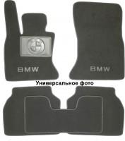 Коврики в салон для BMW 7 E32 '87-94текстильные, серые (Люкс)