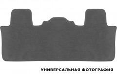 Коврик в салон для Hyundai Santa Fe '18- DM 7 мест 3 ряд текстильный, серый (Люкс)