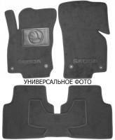 Коврики в салон для Skoda Fabia III '15-текстильные, серые (Люкс) 4 клипсы