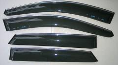 Дефлекторы окон для Hyundai ix-35 '10-15 (ASP)