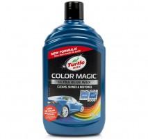 Полироль Turtle Wax Color Magic синий (500 мл)