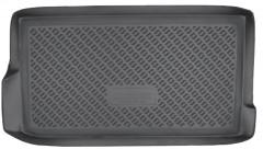 Коврик в багажник для Daewoo Matiz '01-, полиуретановый (NorPlast)