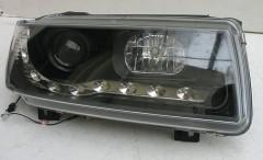 ASP Передние фары для Volkswagen Passat B4 '93-96, черные (ASP)