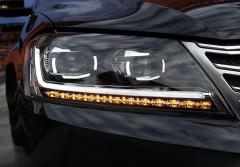 Передние фары для Volkswagen Passat B7 '10-14, ксенон, стиль B8 (ASP)