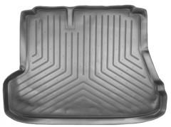 Коврик в багажник для Kia Cerato '04-06 седан, полиуретановый (NorPlast) черный