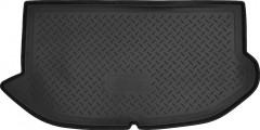 Коврик в багажник для Kia Soul '09-13 (верхний), полиуретановый (NorPlast) черный