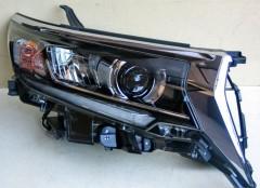 Фото 1 - Передние фары для Toyota LC Prado 150 '18-, LED, стиль LD1 (ASP)