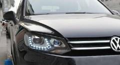 Фото 2 - Передние фары для Volkswagen Touareg '10-18, LD V2 (ASP)