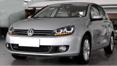 Фото 2 - Передние фары для Volkswagen Golf VI '09-12, стиль Golf7 (ASP)