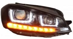 Фото 3 - Передние фары для Volkswagen Golf VII '12-, TLZ (ASP)