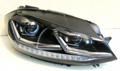 Фото 1 - Передние фары для Volkswagen Golf VII '17-, TLZ (ASP)