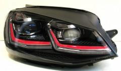 Фото 2 - Передние фары для Volkswagen Golf VII '12-,  LD стиль GTI 7.5 (ASP)