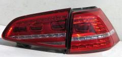 Фото 1 - Фонари задние для Volkswagen Golf VII '12-, LED (ASP)