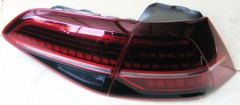 Фото 1 - Фонари задние для Volkswagen Golf VII '12-, LED, стиль 7.5  (ASP)