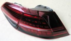 Фото 3 - Фонари задние для Volkswagen Golf VII '12-, LED, стиль 7.5  (ASP)