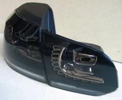 Фото 4 - Фонари задние для Volkswagen Golf VI '09-12, LED R20, тонированные  (ASP)