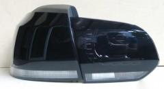 Фото 2 - Фонари задние для Volkswagen Golf VI '09-12, LED R20, черные (ASP)