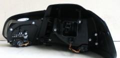 Фото 3 - Фонари задние для Volkswagen Golf VI '09-12, LED R20, черные (ASP)