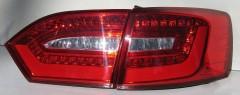 Фонари задние для Volkswagen Jetta VI '10-LED, красные, V2(ASP)