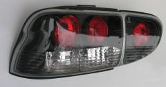 Фото 2 - Фонари задние для Ford Escort '95-00, черные (ASP)