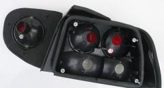 Фото 5 - Фонари задние для Ford Escort '95-00, черные (ASP)