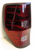 Фото 1 - Фонари задние для Ford Ranger '11-, LED, красные (ASP)