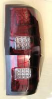 Фото 2 - Фонари задние для Ford Ranger '11-, LED, красные (ASP)