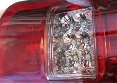 Фото 3 - Фонари задние для Ford Ranger '11-, LED, красные (ASP)