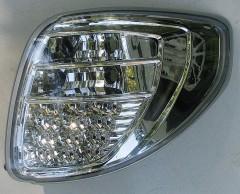 Фото 2 - Фонари задние для Suzuki SX4 '06-14, LED, хром (ASP)