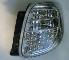 Фото 3 - Фонари задние для Suzuki SX4 '06-14, LED, хром (ASP)